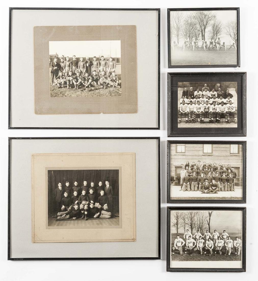 6 Photographs of Football Teams incl J.E.C.