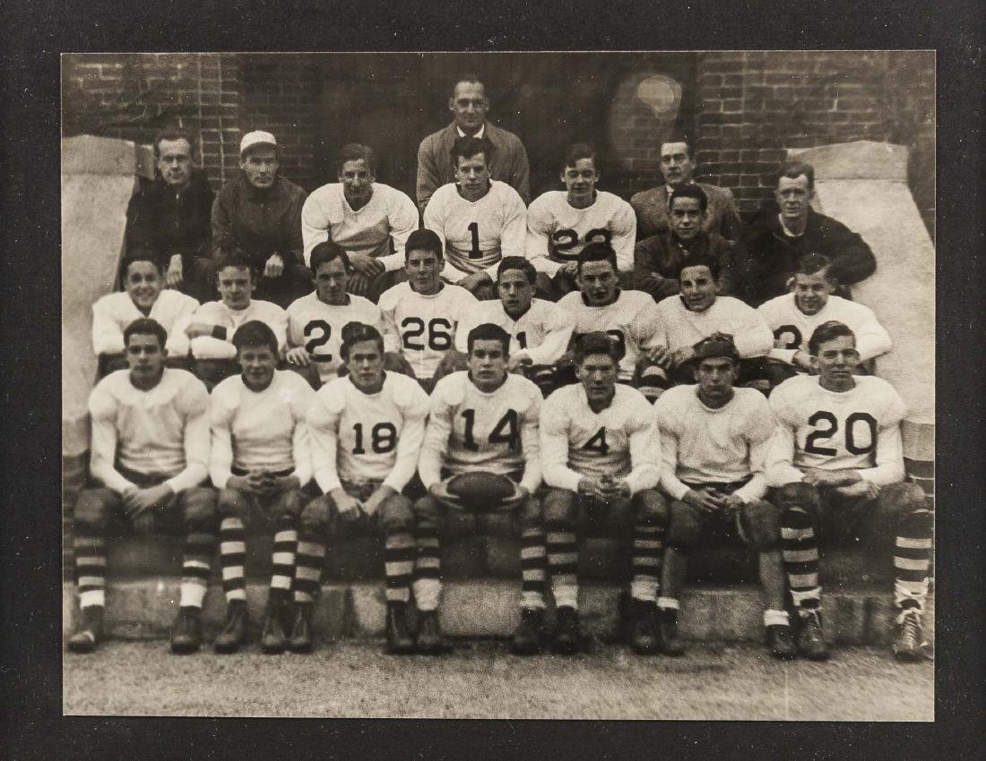 6 Photographs of Football Teams incl J.E.C. - 2
