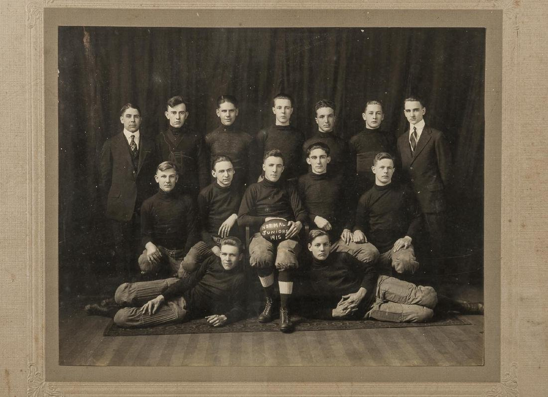 6 Photographs of Football Teams incl J.E.C. - 3