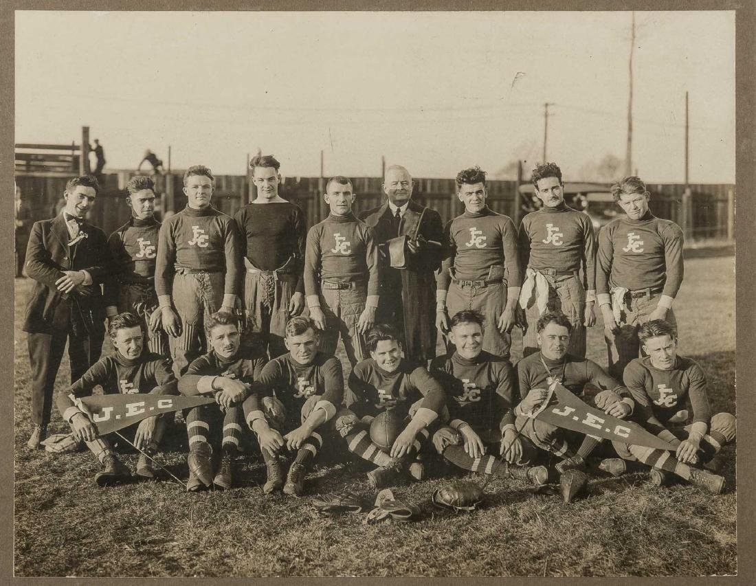 6 Photographs of Football Teams incl J.E.C. - 5