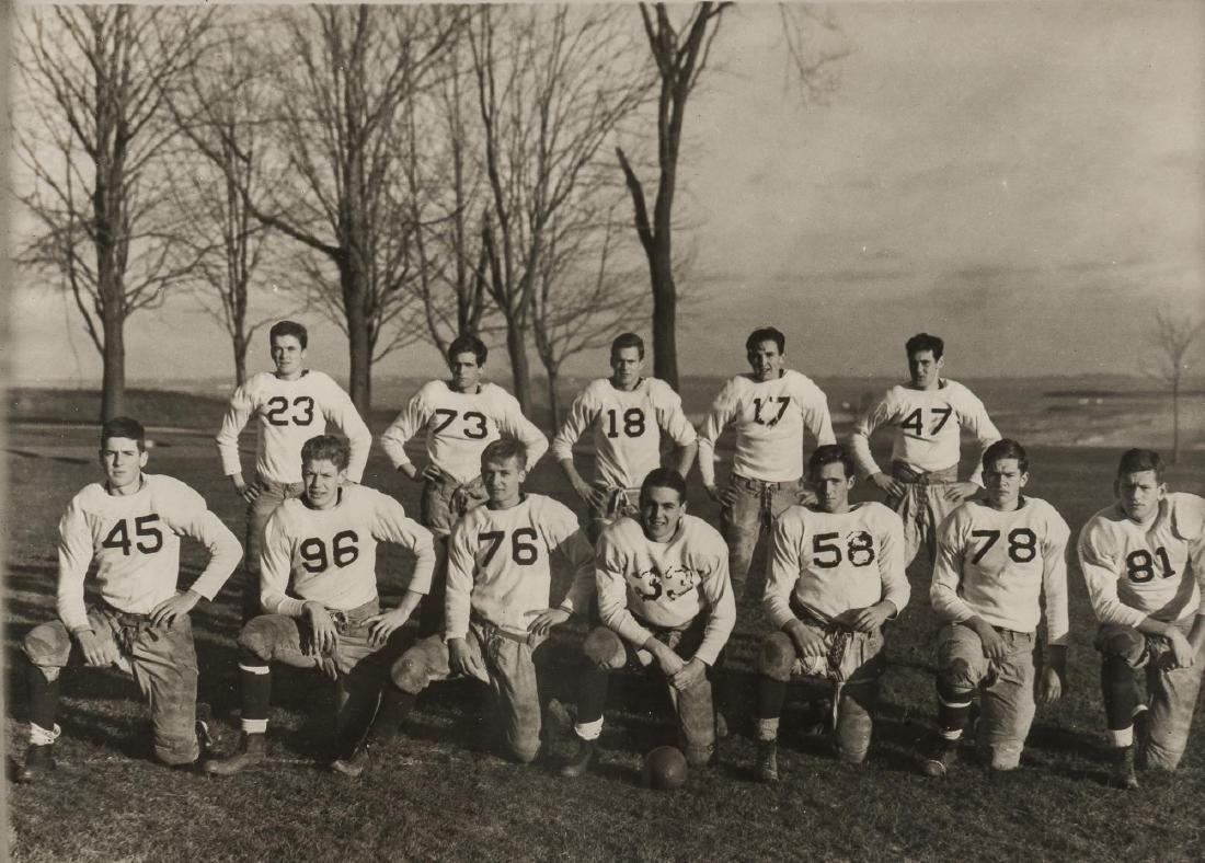 6 Photographs of Football Teams incl J.E.C. - 6
