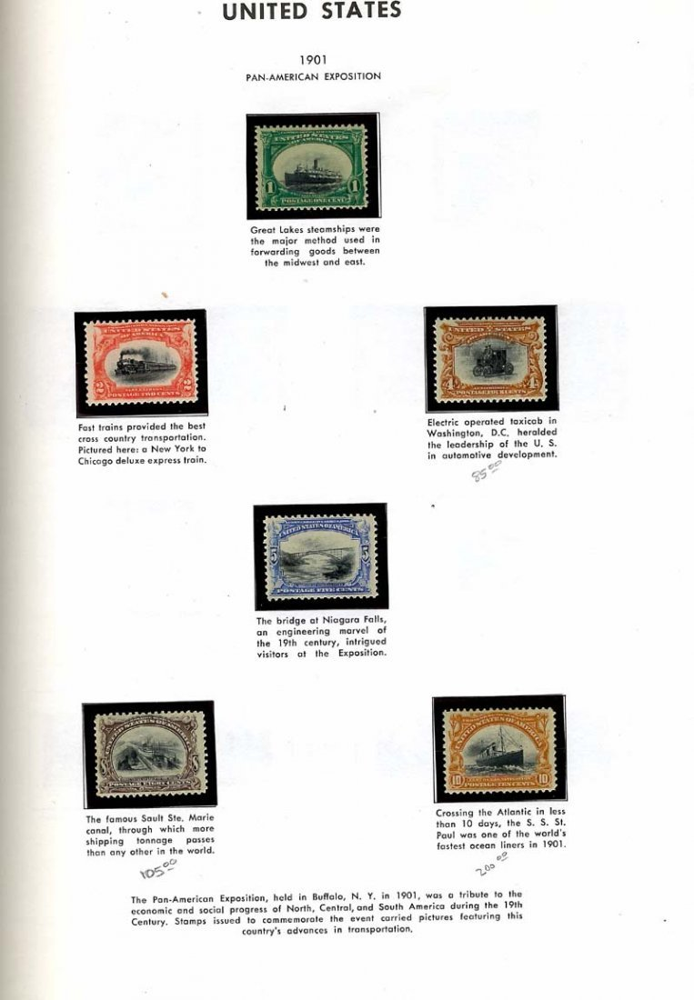 Mint US NH Single Stamps - 10
