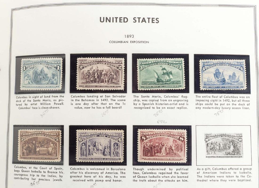 Mint US NH Single Stamps - 5