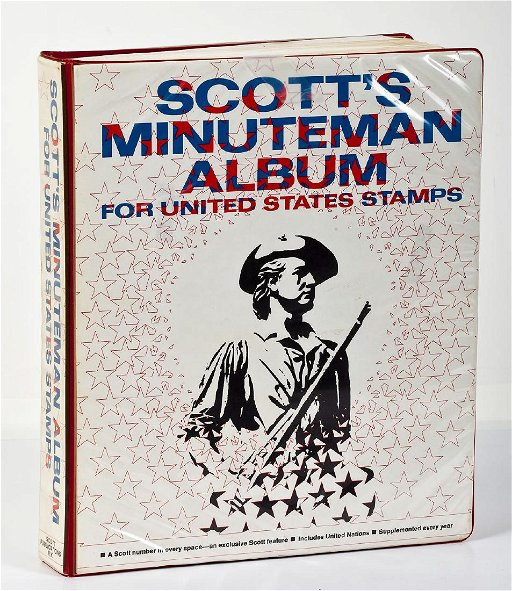 Scott Minuteman Stamp Album