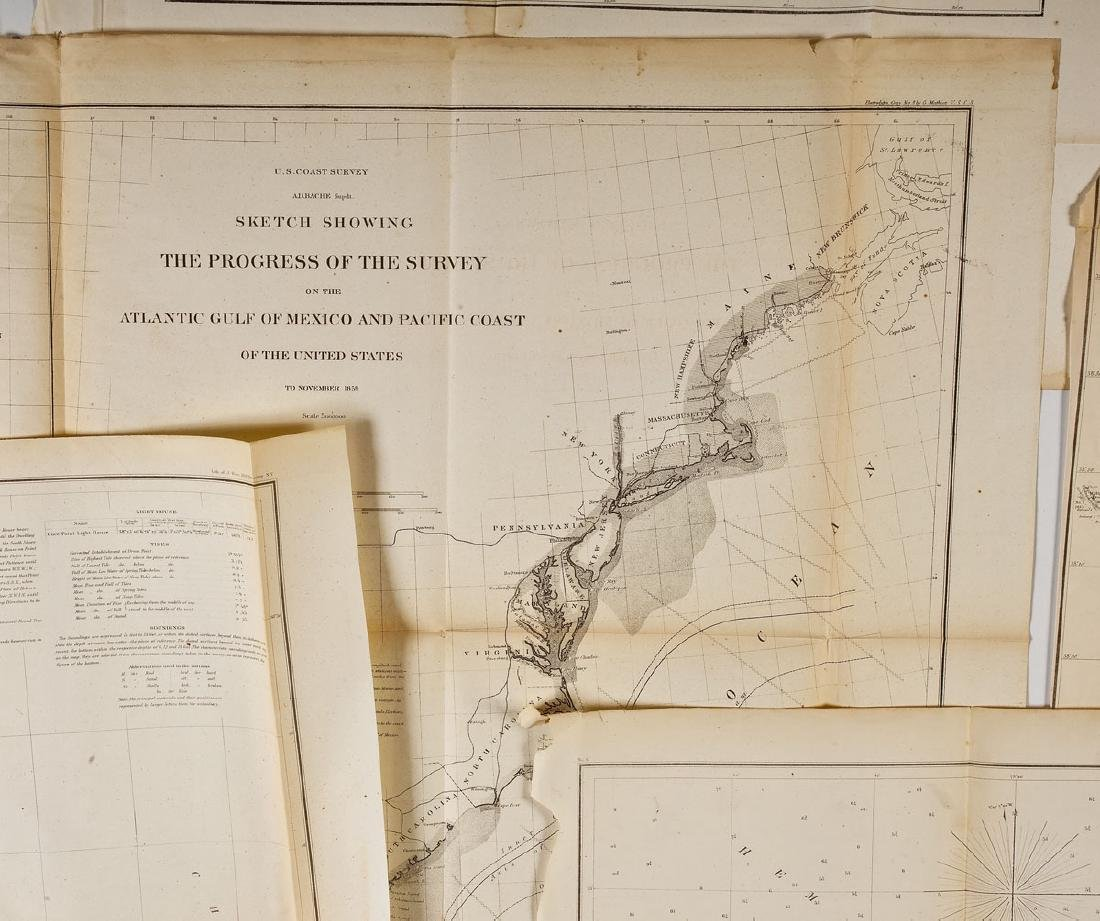 13 1859 U.S. Coastal Survey Maps - 5