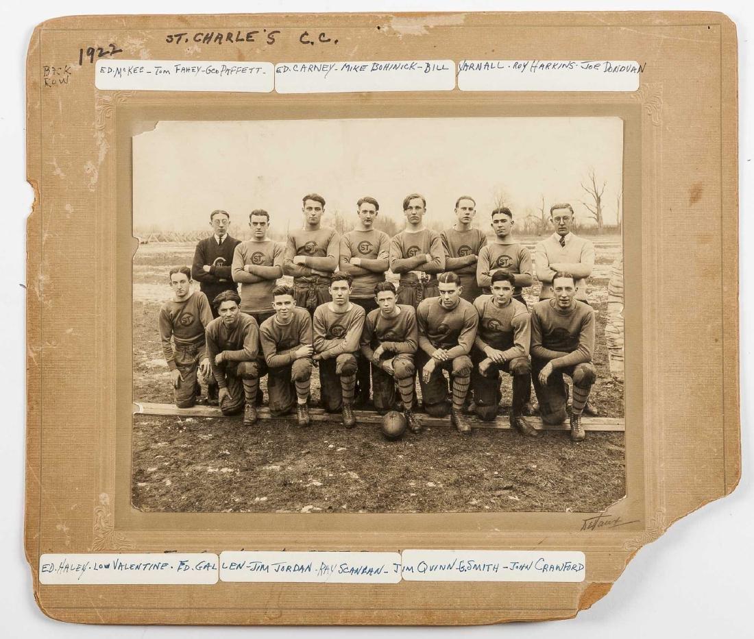 5 Football Photos incl 1920s and 1930s - 2