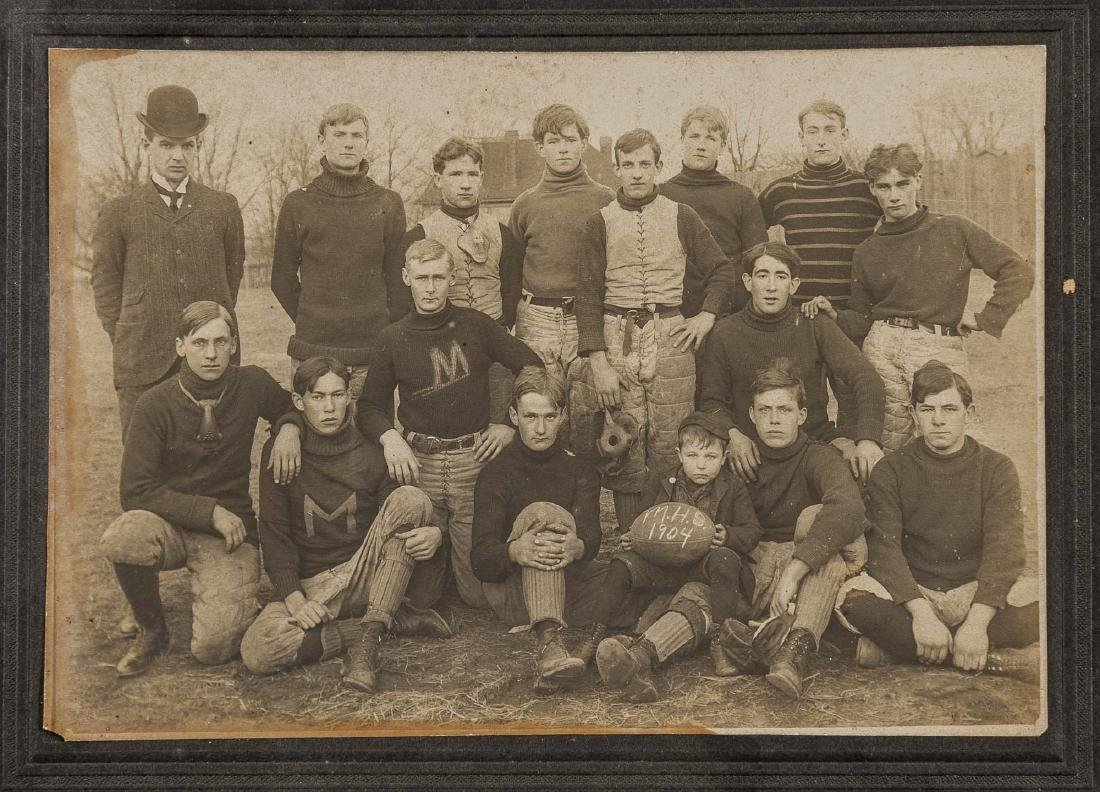 5 Football Photos incl 1920s and 1930s - 3