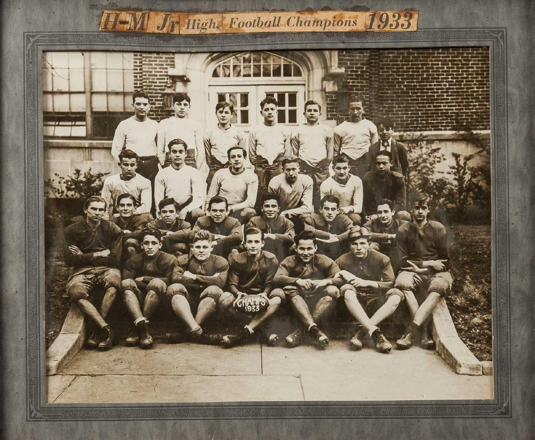 5 Football Photos incl 1920s and 1930s - 5