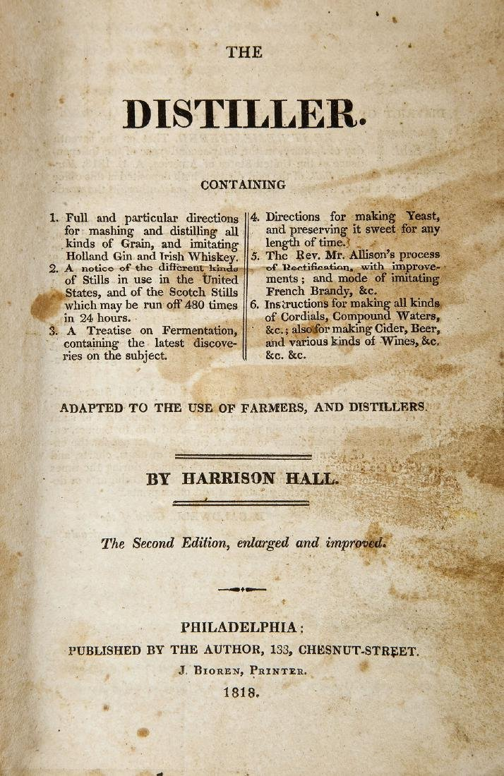 1818 The Distiller by Harrison Hall 2nd Edition - 8