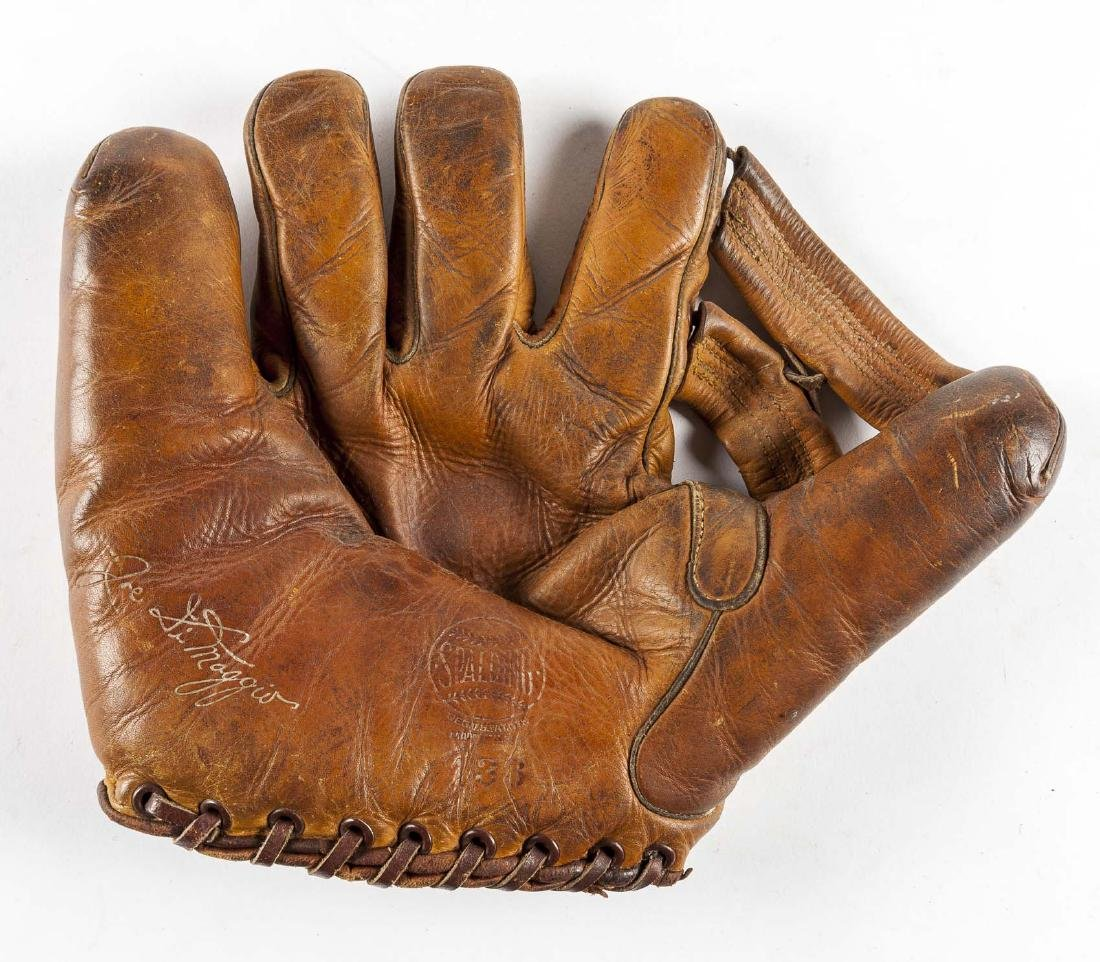 Spalding Joe DiMaggio Split Finger Baseball Glove