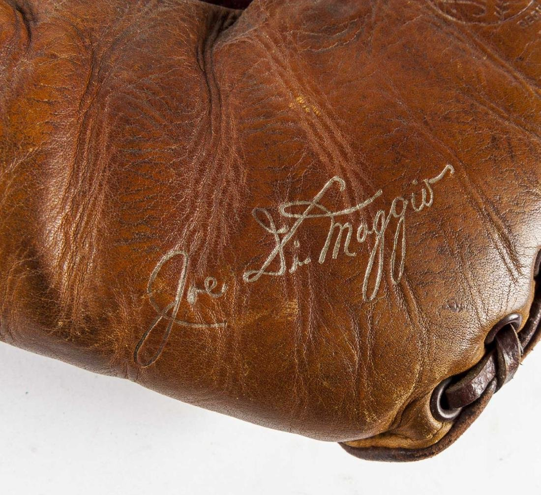 Spalding Joe DiMaggio Split Finger Baseball Glove - 4