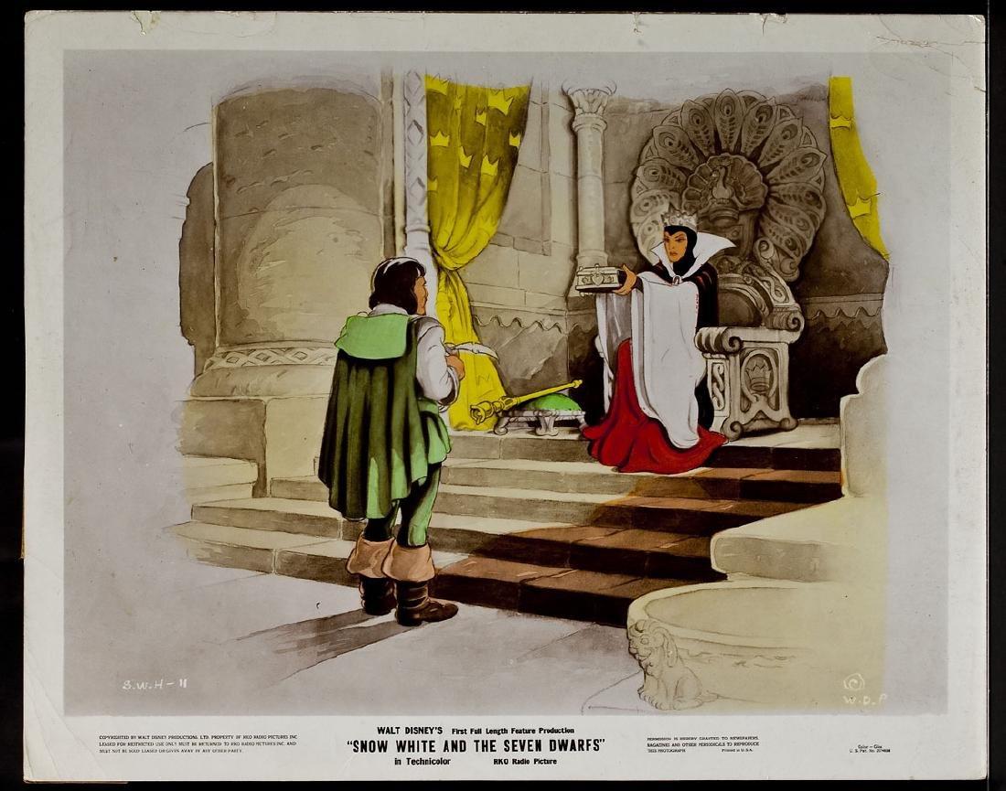 3 1937 Snow White & Seven Dwarfs RKO Lobby Cards - 10