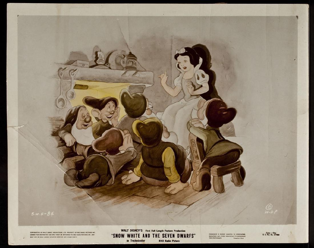 3 1937 Snow White & Seven Dwarfs RKO Lobby Cards - 2