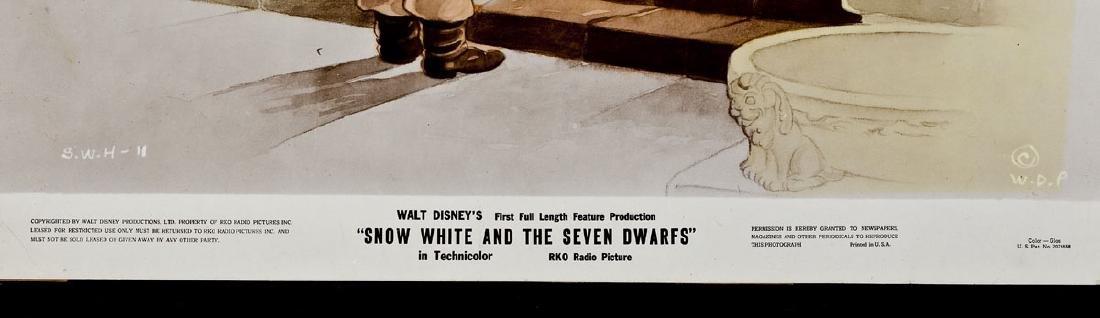 3 1937 Snow White & Seven Dwarfs RKO Lobby Cards - 3