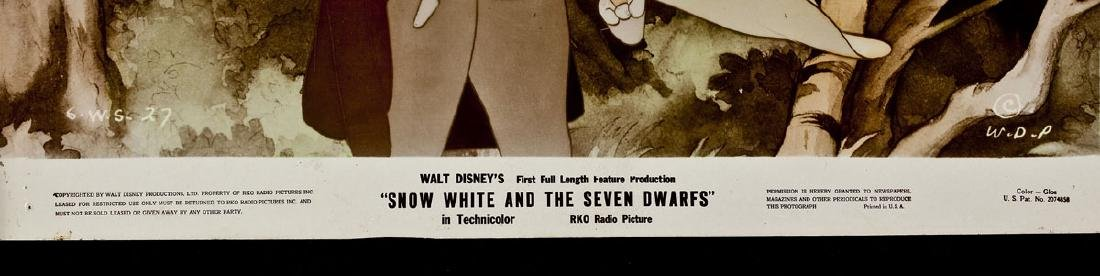 3 1937 Snow White & Seven Dwarfs RKO Lobby Cards - 4