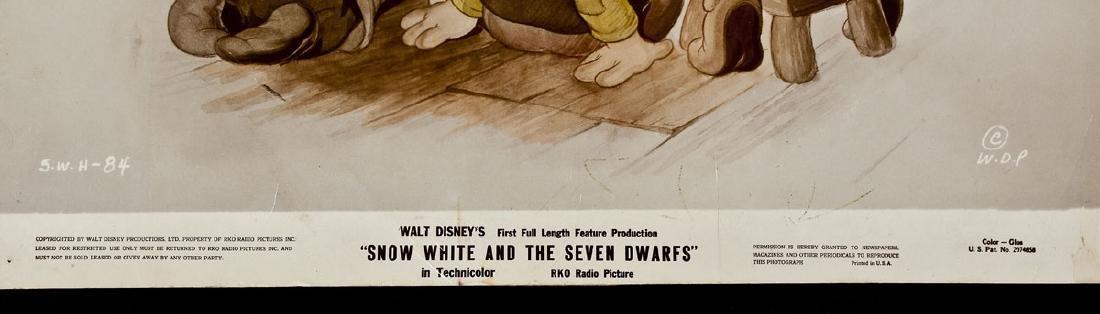 3 1937 Snow White & Seven Dwarfs RKO Lobby Cards - 5