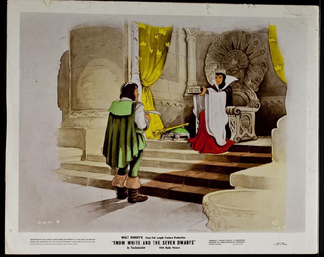 3 1937 Snow White & Seven Dwarfs RKO Lobby Cards - 7