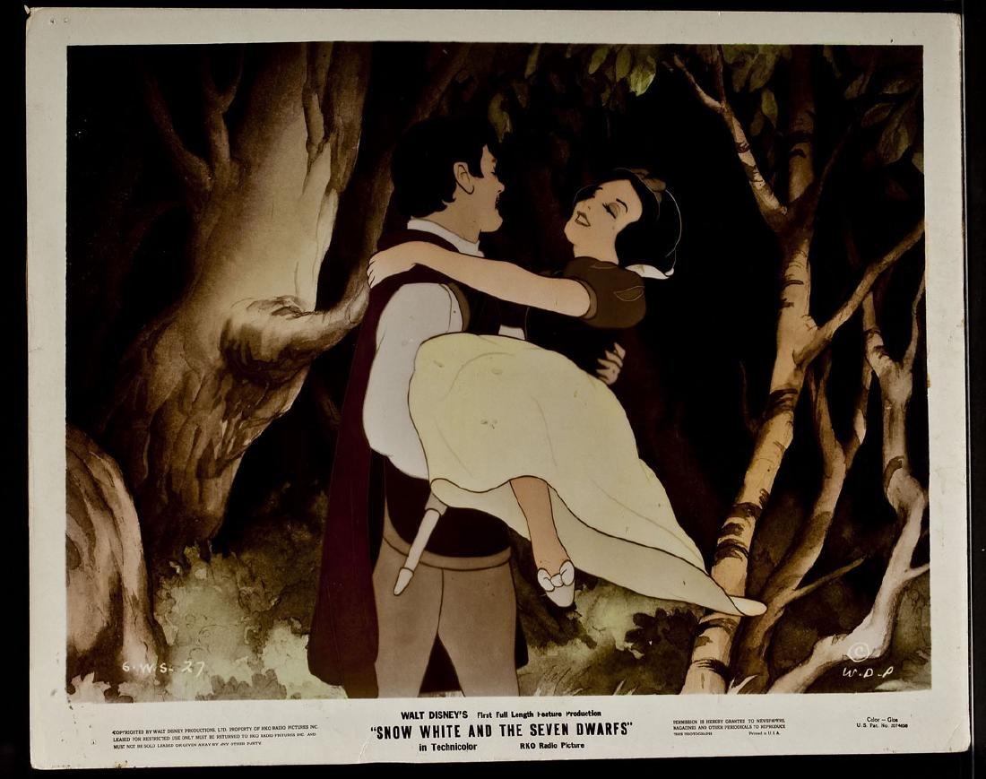 3 1937 Snow White & Seven Dwarfs RKO Lobby Cards - 8