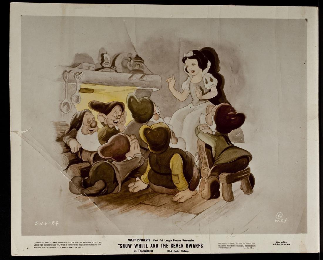3 1937 Snow White & Seven Dwarfs RKO Lobby Cards - 9