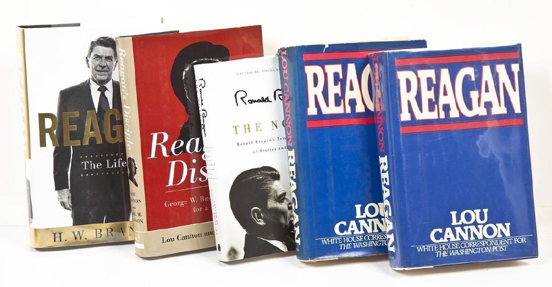 5 President Ronald Reagan Hardcover Volumes - 2