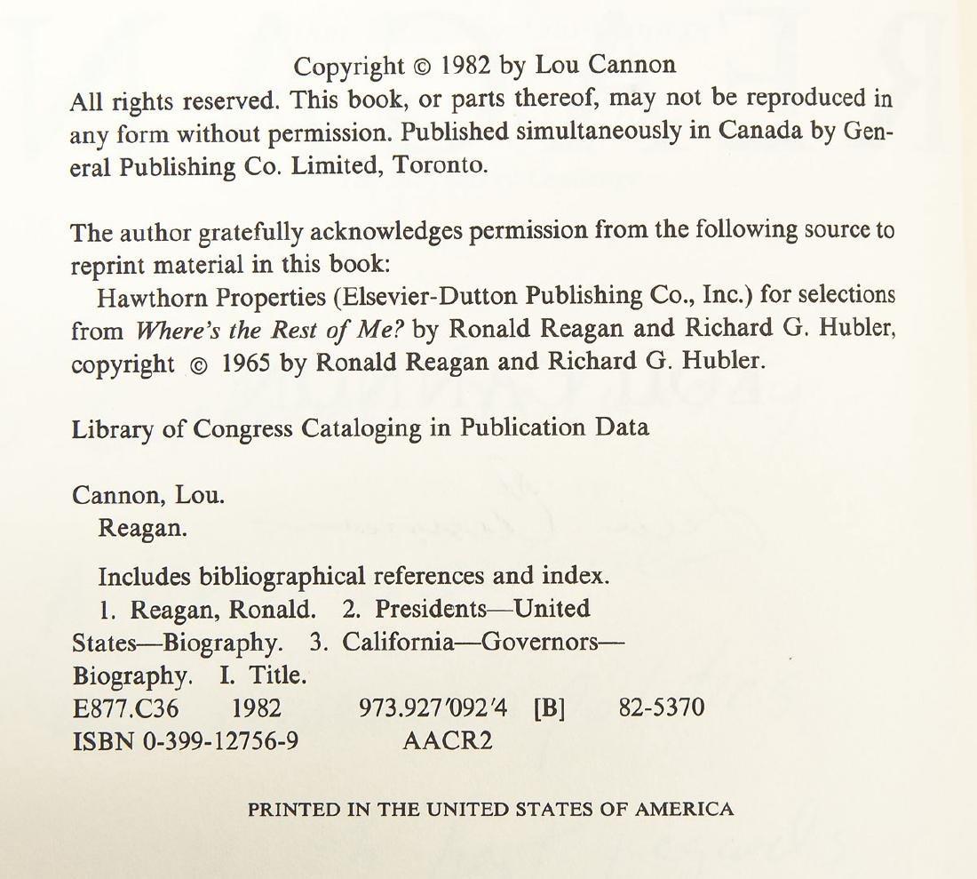 5 President Ronald Reagan Hardcover Volumes - 5
