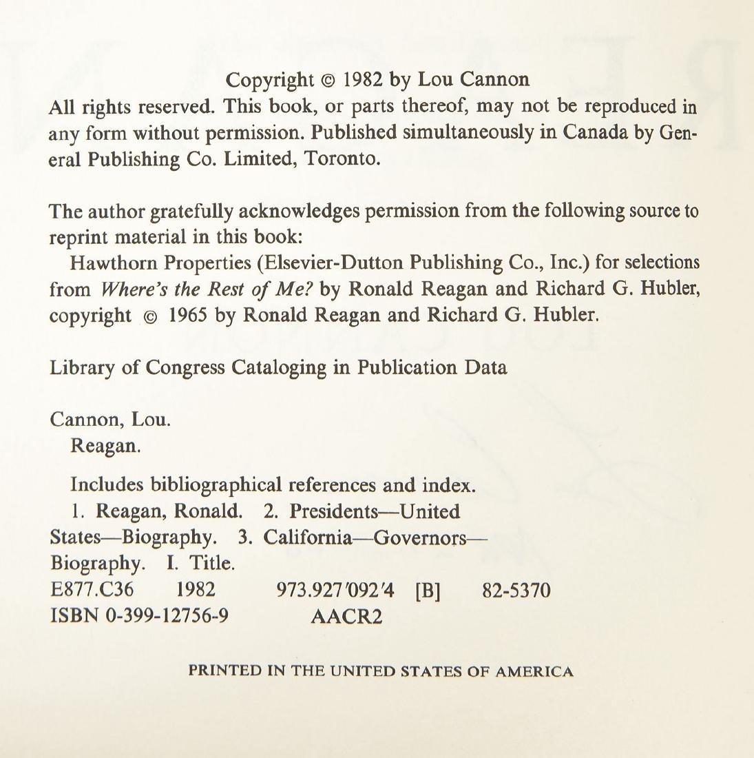 5 President Ronald Reagan Hardcover Volumes - 7
