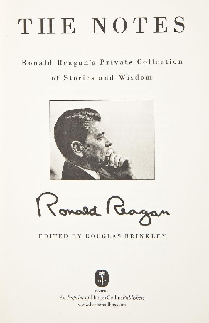 5 President Ronald Reagan Hardcover Volumes - 8