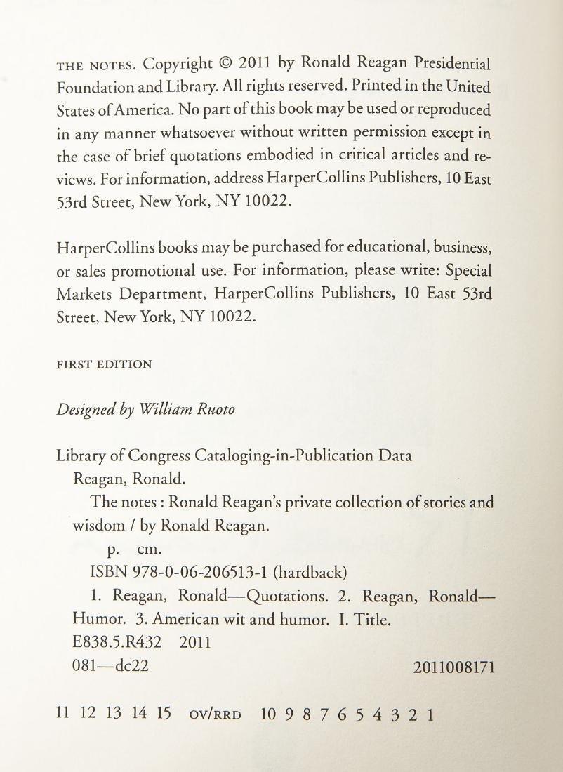 5 President Ronald Reagan Hardcover Volumes - 9