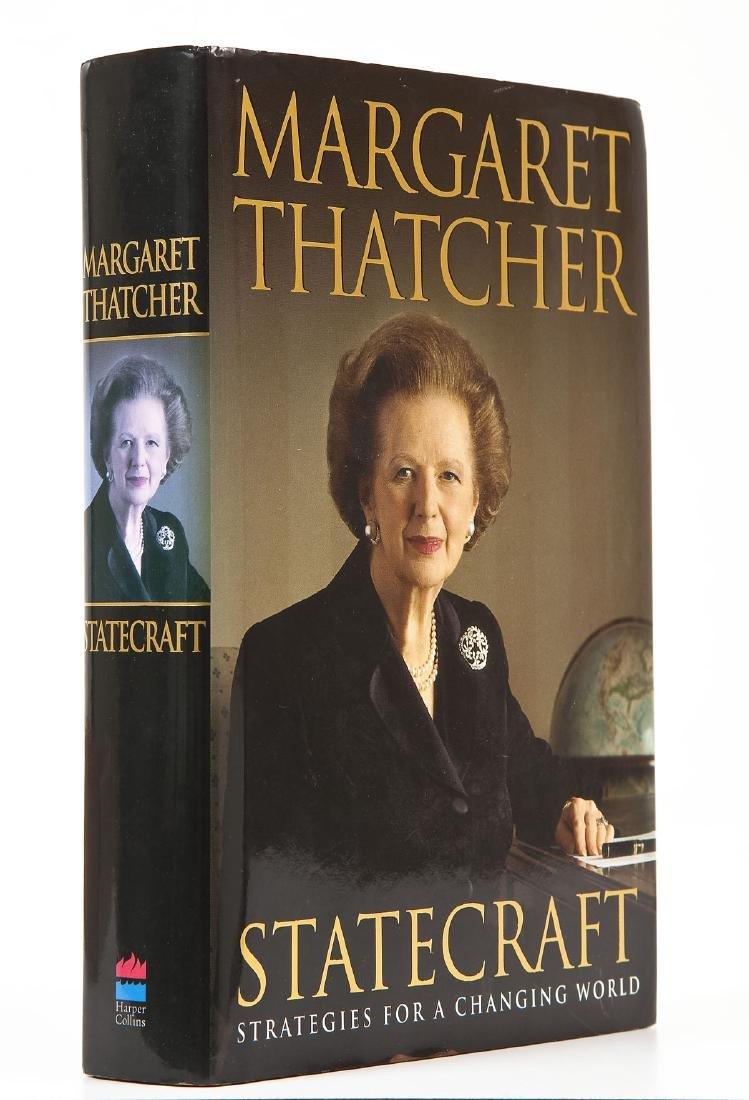 Statecraft Strategies Signed by Margaret Thatcher