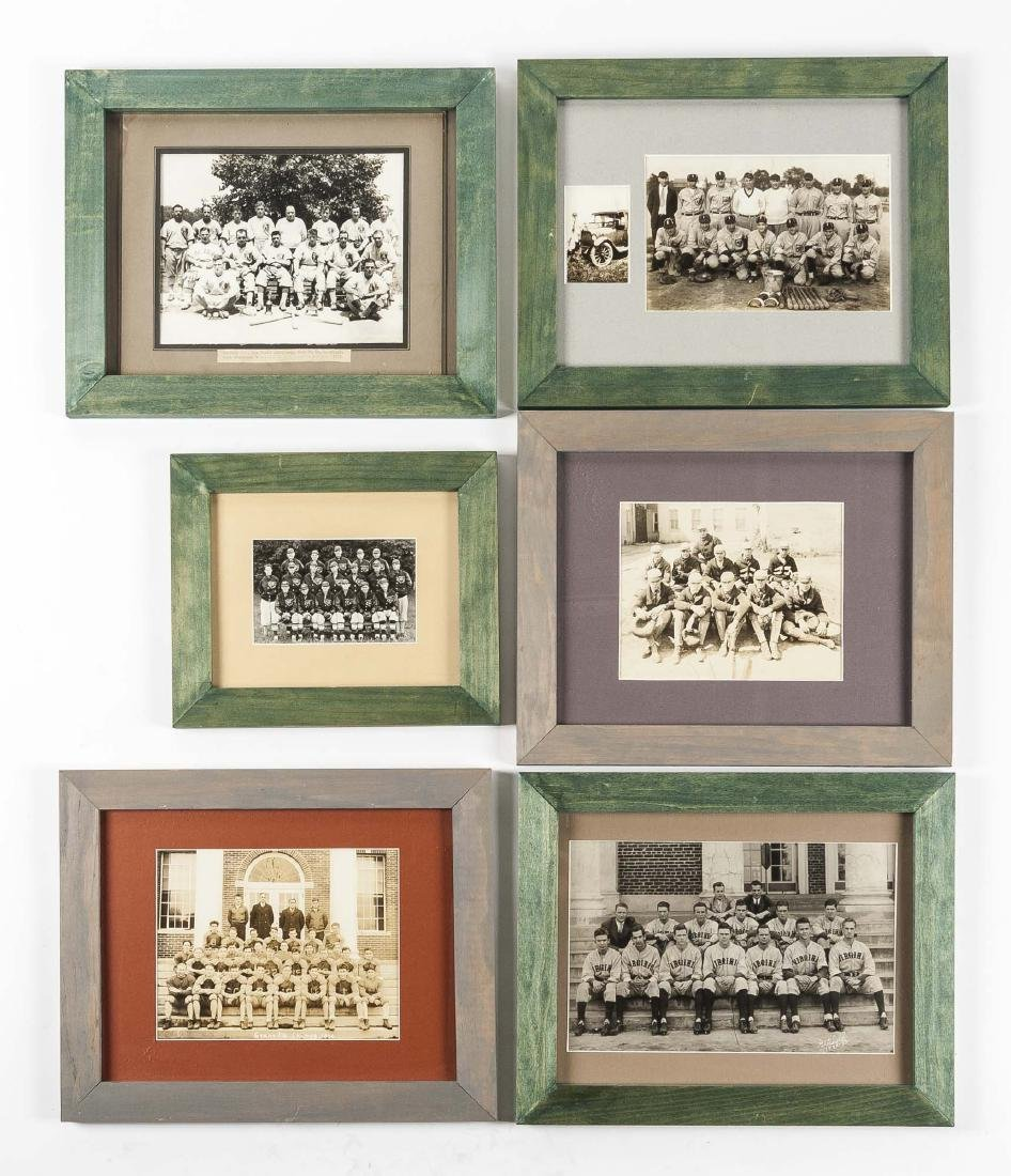 6 Circa 1930s Sports Photographs incl Virginia