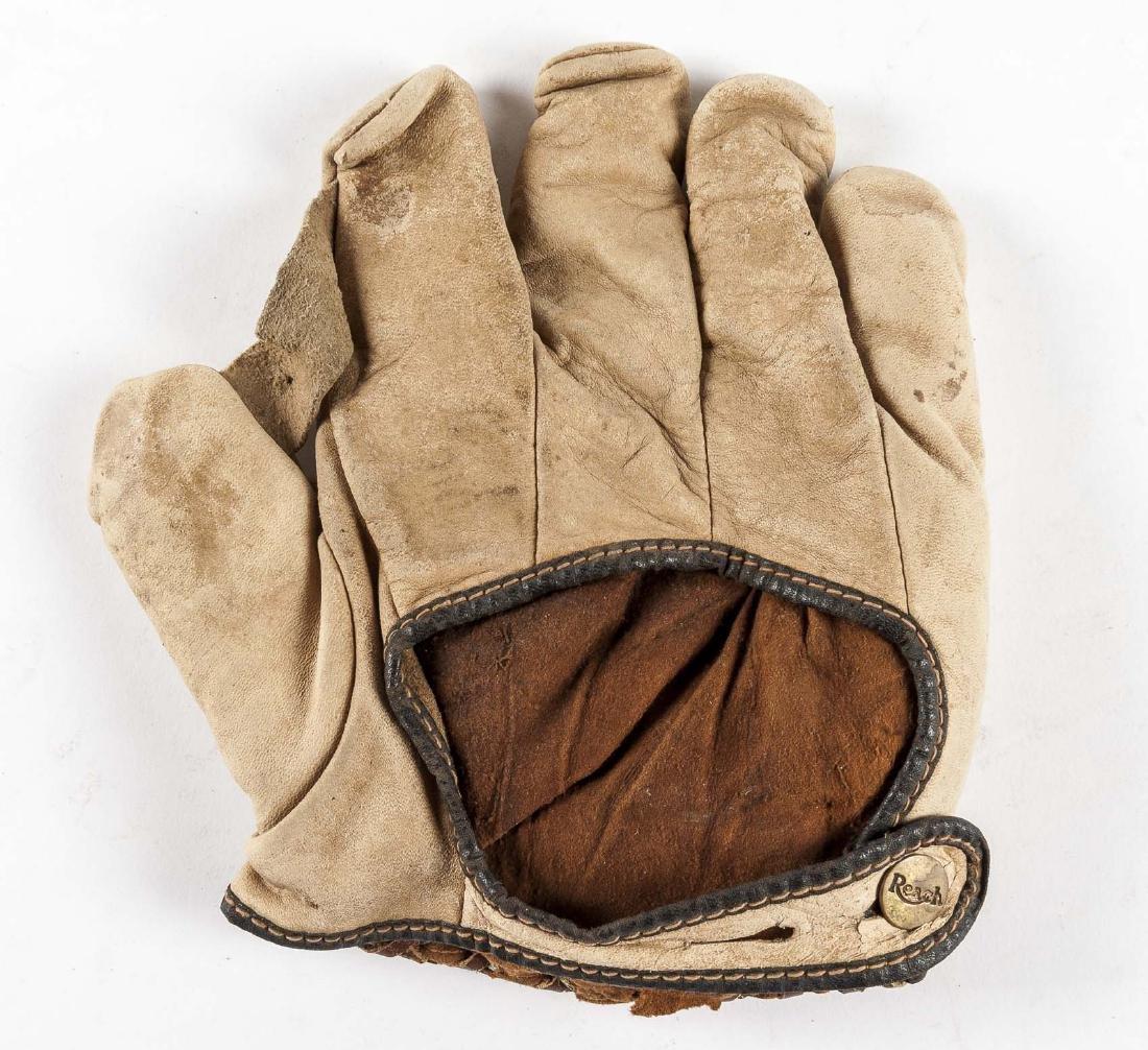 "Reach 1"" Web Baseball Glove in White - 2"