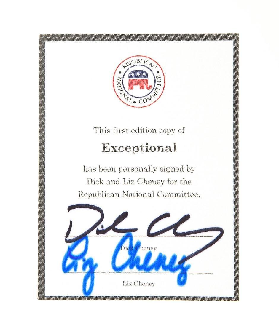 4 President George Bush & Cheney Signed Books - 4