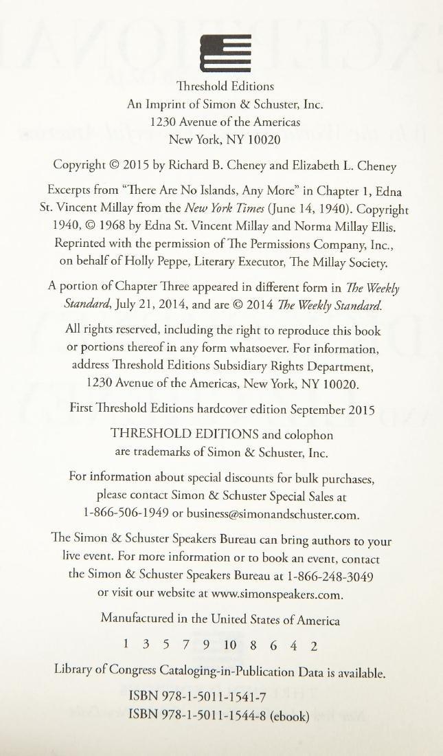 4 President George Bush & Cheney Signed Books - 6