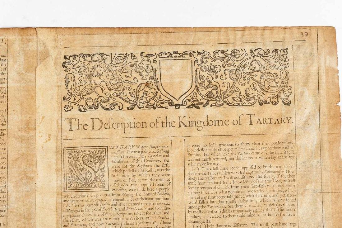 1626 John Speed Newe Mape of Tartary - 6