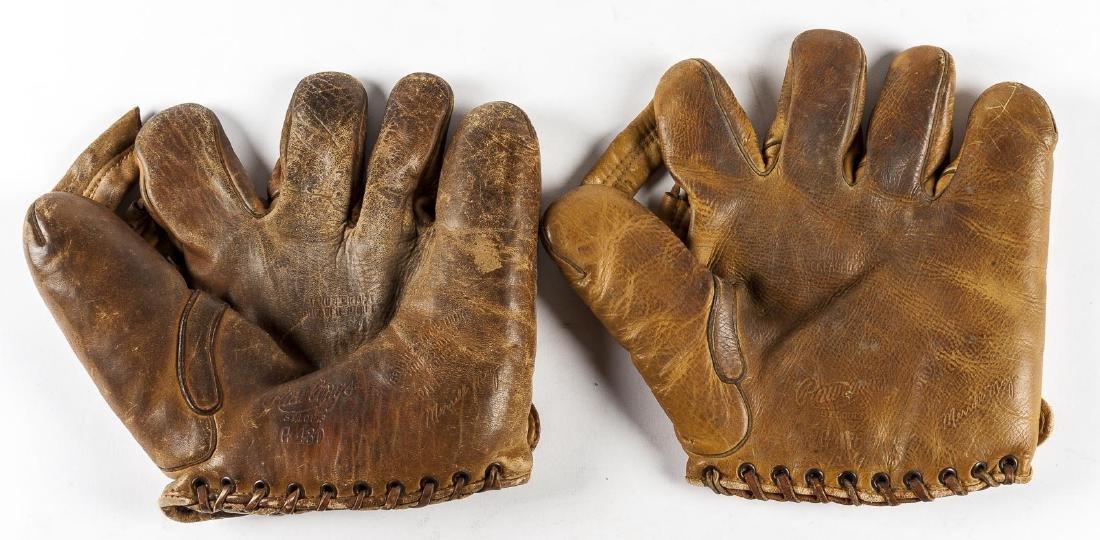 2 Rawlings Merrill Mays Split Finger Gloves