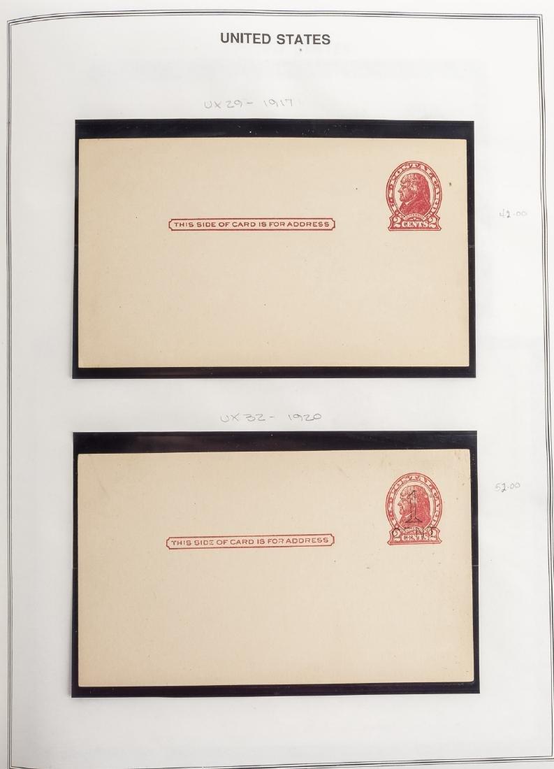 Mint US Postal Stationary UX Post Cards 1879-1989 - 3