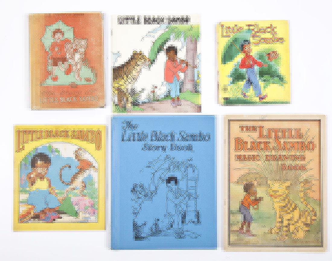 6 Black Americana Books Little Black Sambo