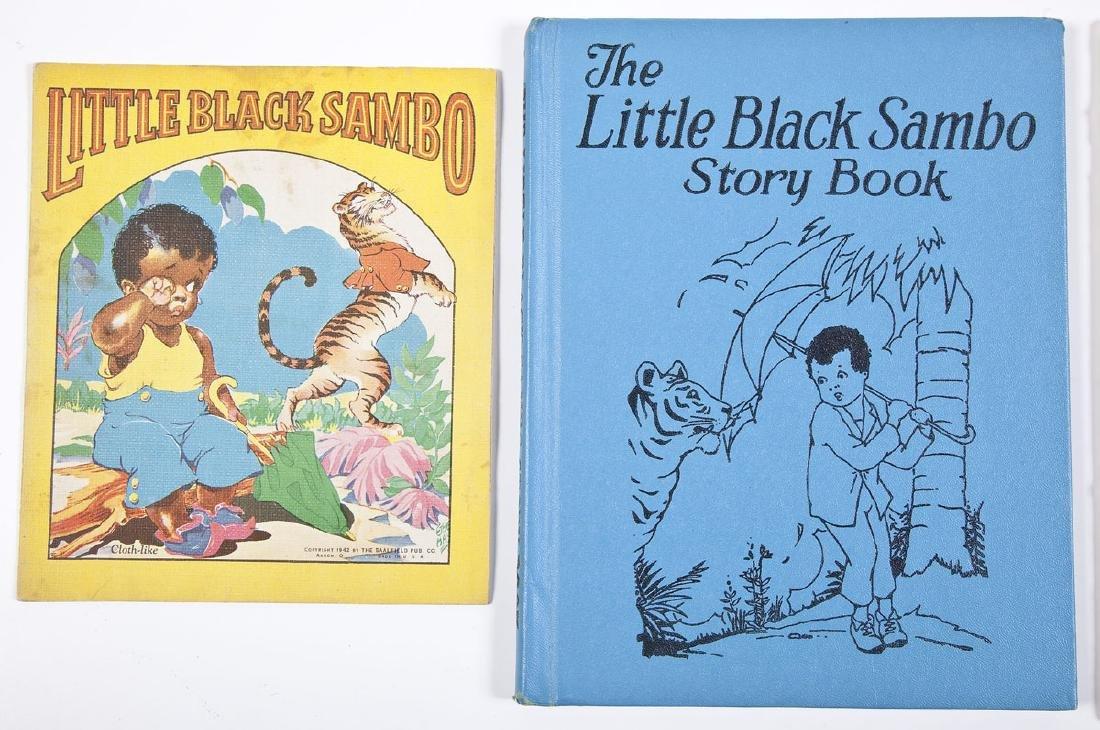 6 Black Americana Books Little Black Sambo - 2