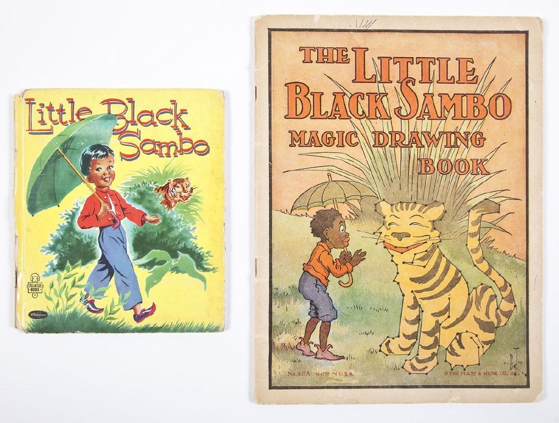6 Black Americana Books Little Black Sambo - 3