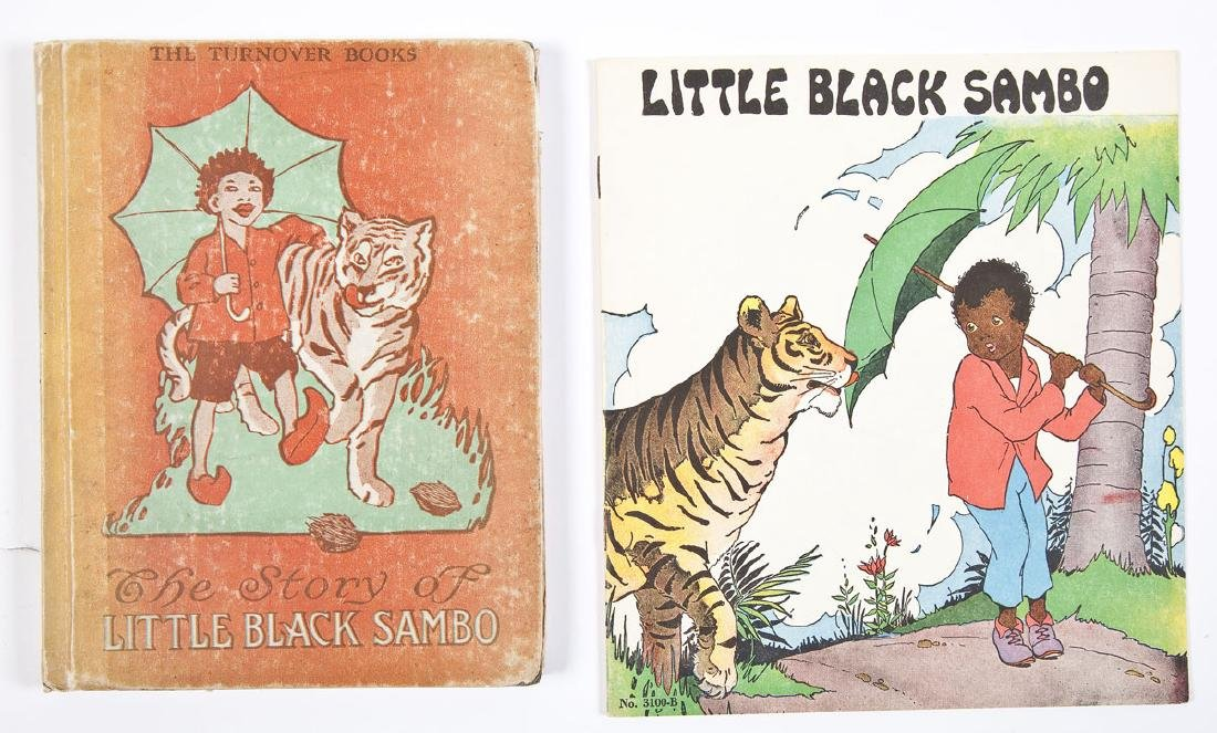6 Black Americana Books Little Black Sambo - 4