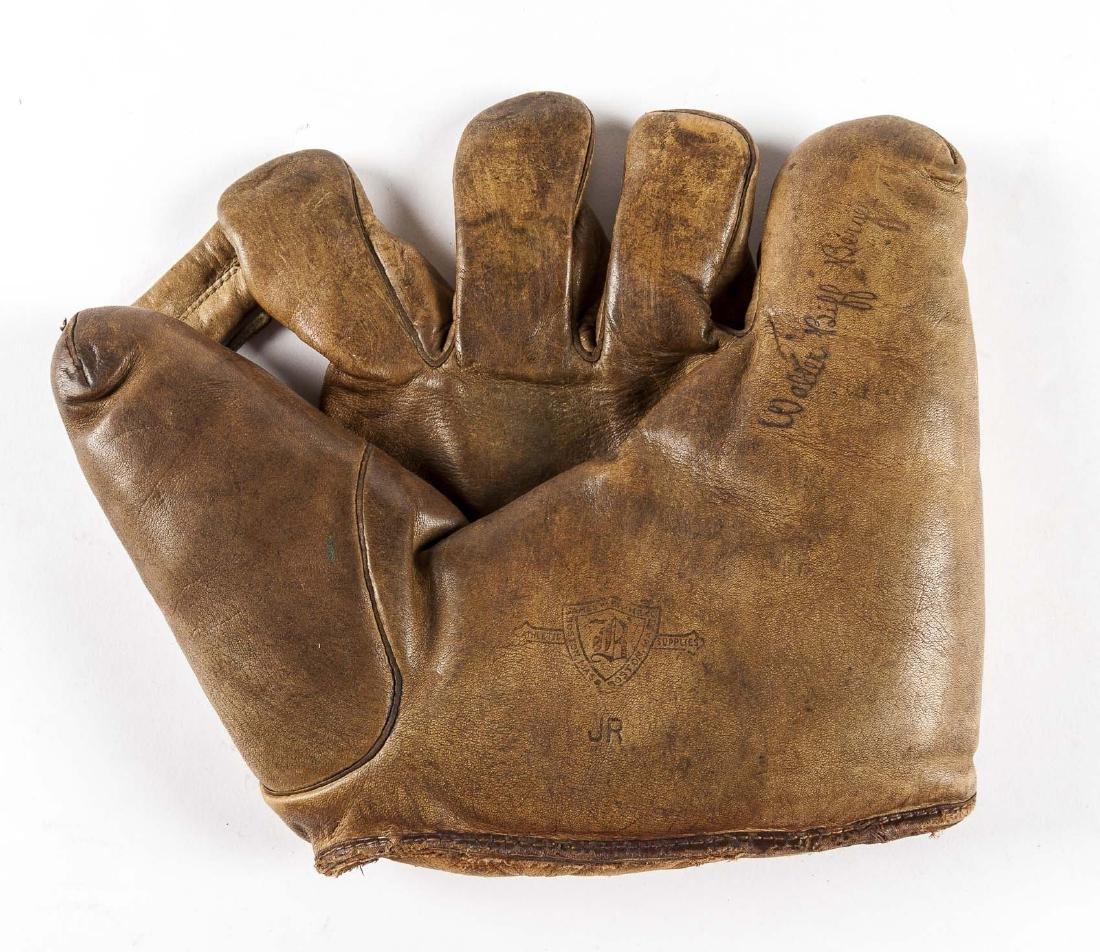 "James W. Brine ""Biff"" Berger Split Finger Glove"