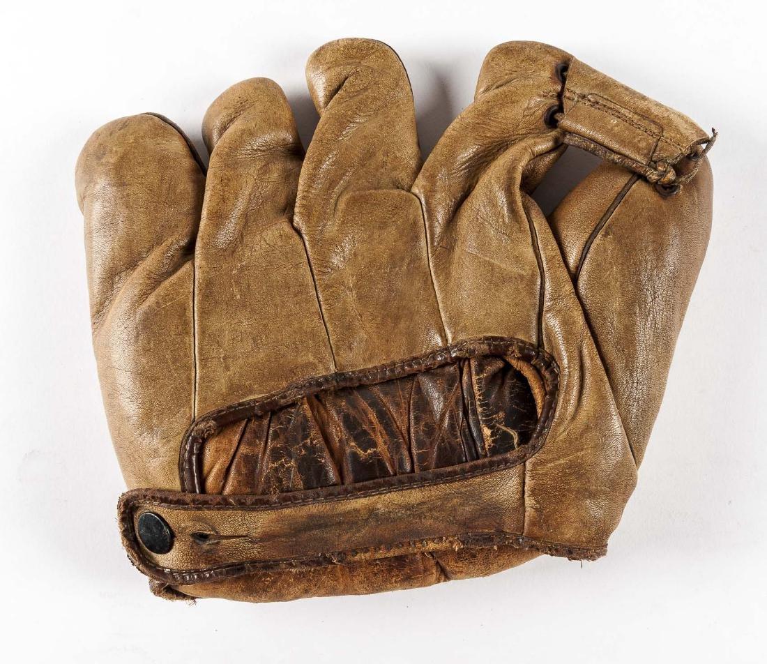 "James W. Brine ""Biff"" Berger Split Finger Glove - 2"