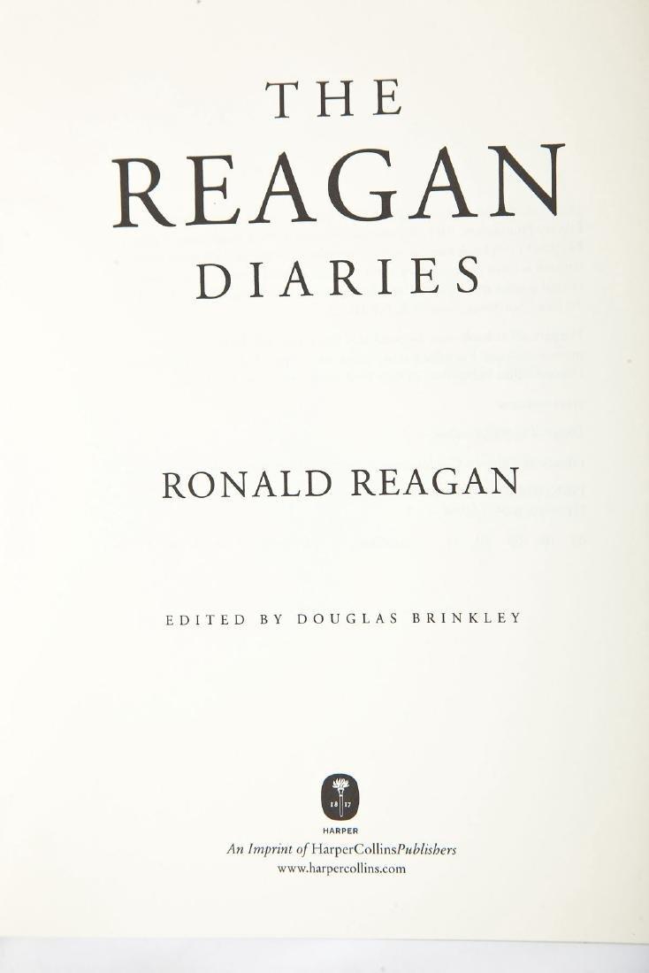 2 Reagan Diaries Signed by Douglas Brinkley - 3