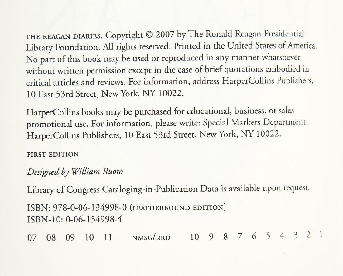 2 Reagan Diaries Signed by Douglas Brinkley - 4