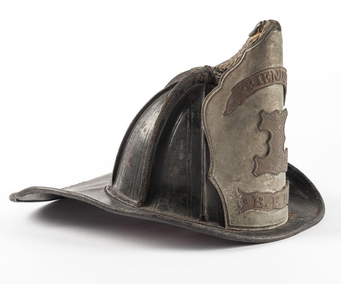 Early Bloomsburg Friendship Fire Co. #1 Helmet - 2