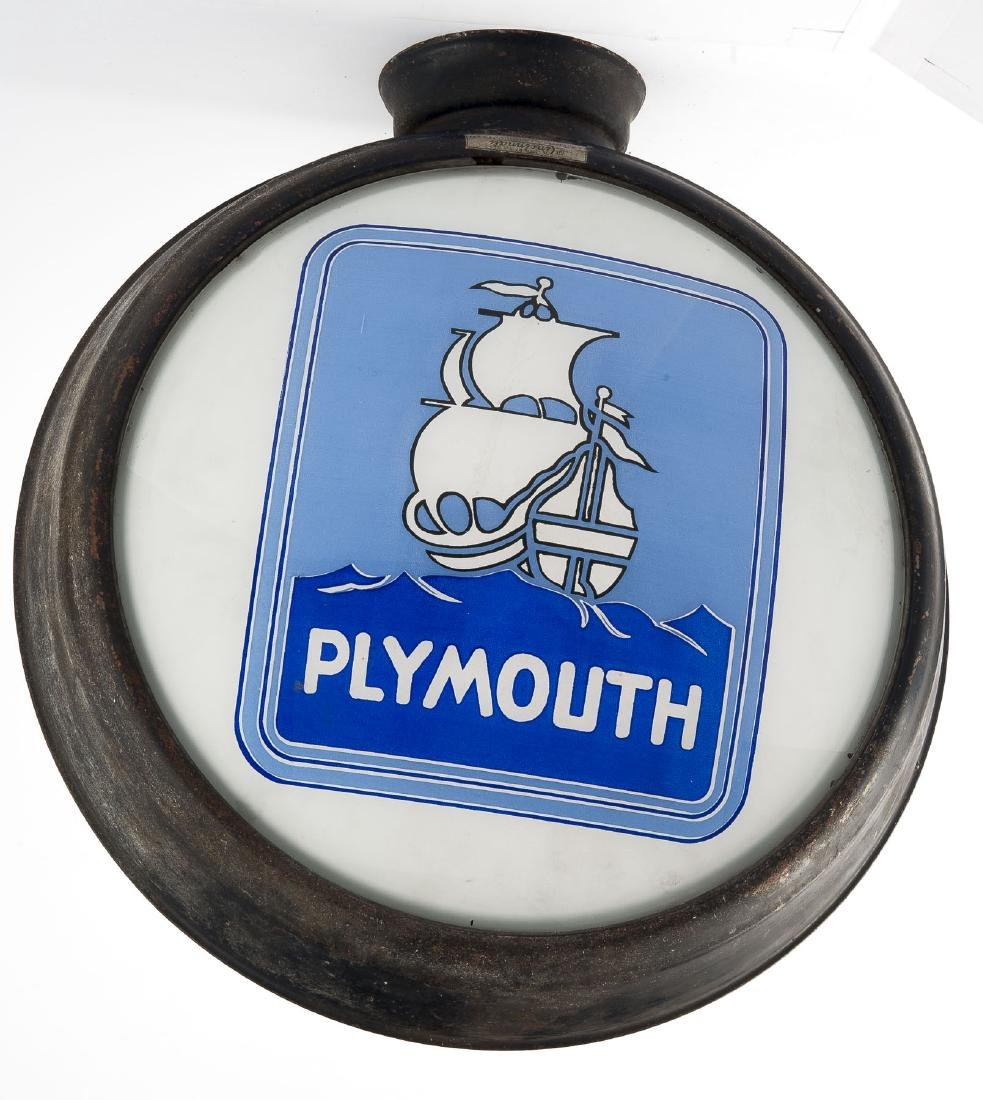 Plymouth Gas Globe