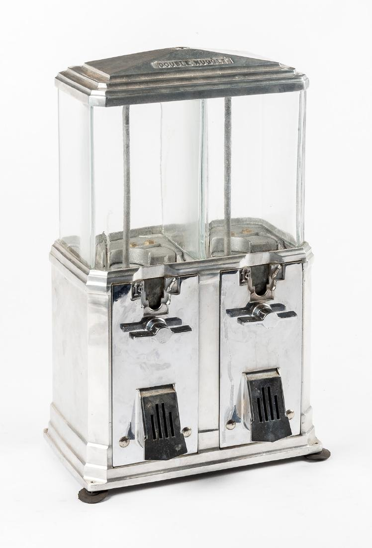 "Coin-Op Salesman's Sample ""Double Nugget"" Machine"