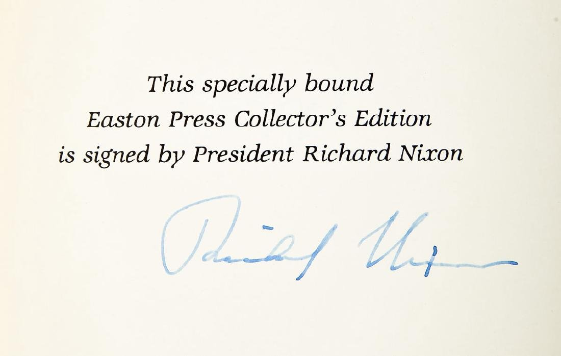Signed Memoirs of Richard Nixon 4 Vols. - 5