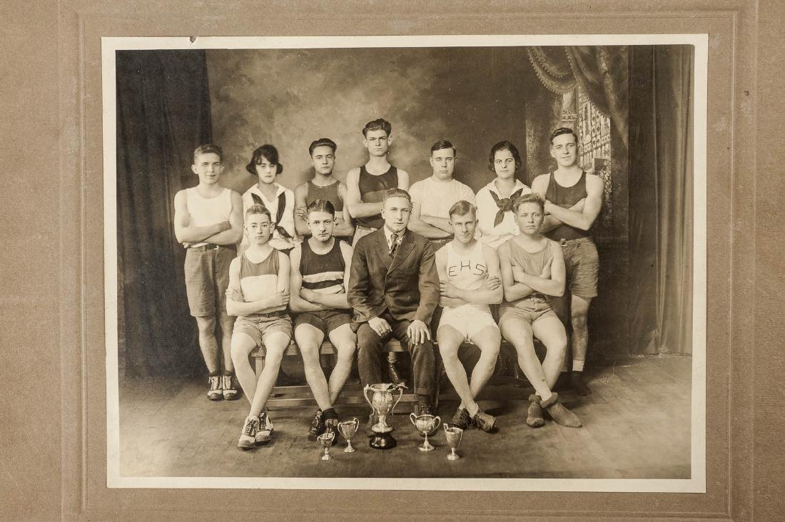 8 19th & 20th C B&W Sport Photographs - 2