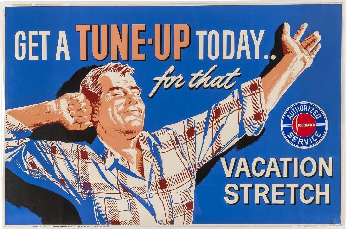 Studebaker & Packer Poster Ads C 1950 - 2